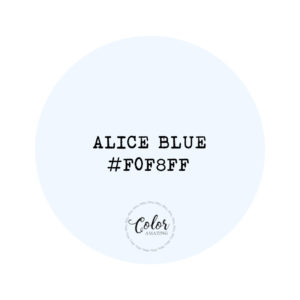 Alice Blue hex code