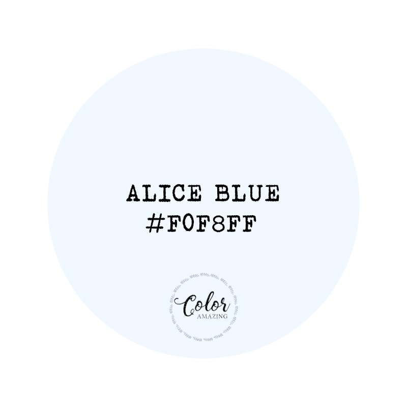 alice blue Color Amazing