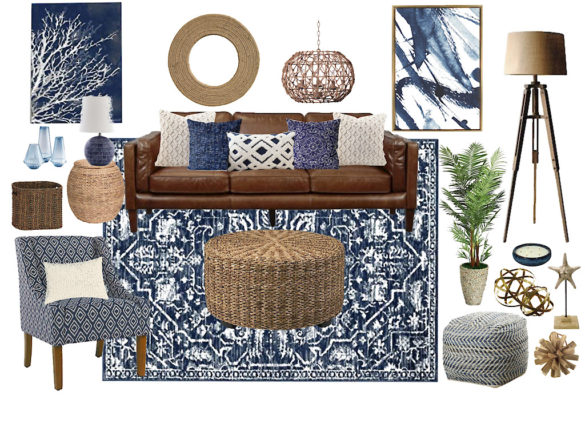 indigo home decor
