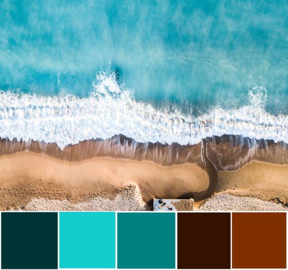 what color is teal
