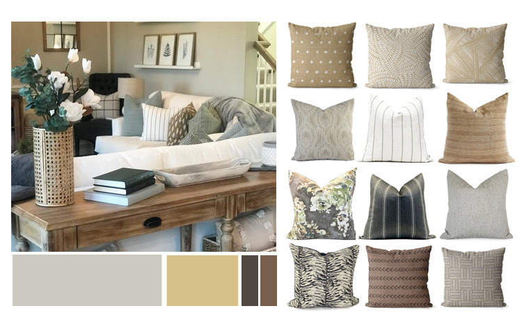 repose gray coordinating colors, neutral color palette